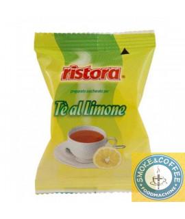 Solubili Ristora cialde capsule compatibili Lavazza Espresso Point Te al Limone