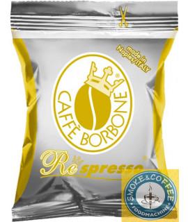 Caffè Borbone Oro Respresso cialde capsule compatibili nespresso 50