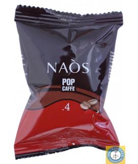 Caffè Pop Naos dek cialde capsule compatibili Nespresso