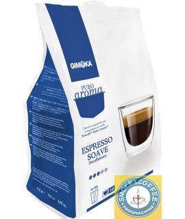 Caffè Gimoka cialde capsule compatibili Dolce Gusto Puro Aroma Soave Dek