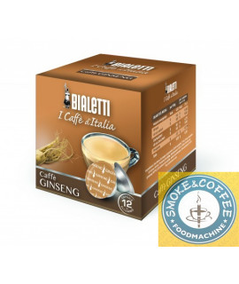 Caffè Bialetti Ginseng cialde capsule compatibili Bialetti Mokespresso