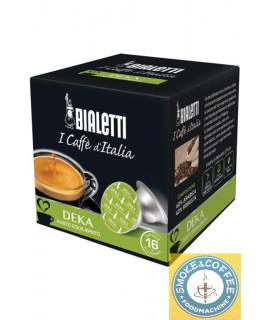 Caffè Bialetti gusto Deka cialde capsule compatibili Bialetti Mokespresso