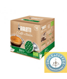 Caffè Bialetti Bio cialde capsule compatibili Bialetti Mokespresso