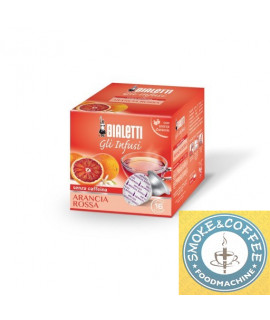 Caffè Bialetti infuso arancia rossa cialde capsule compatibili Bialetti Mokespresso