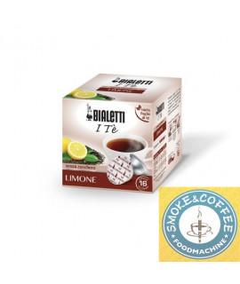 Caffè Bialetti Te nero limone cialde capsule compatibili Bialetti Mokespresso