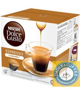 Caffè Nescafè cialde capsule compatibili Dolce Gusto espresso caramel