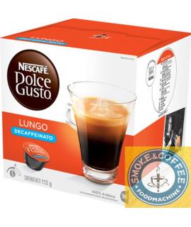 Caffè Nescafè cialde capsule compatibili Dolce Gusto lungo decaffeinato