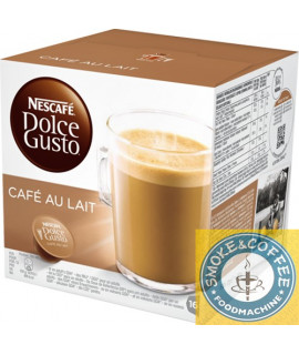 Solubili Nescafè compatibili Dolce Gusto Cafè au lait