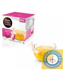 Solubili Nescafè cialde capusle compatibili Dolce Gusto Macaron green tea
