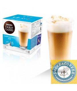 Solubili Nescafè cialde capsule compatibili Dolce Gusto Cappuccino ice