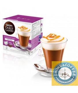 Solubili Nescafè cialde capsule compatibili Dolce Gusto Chococino caramel