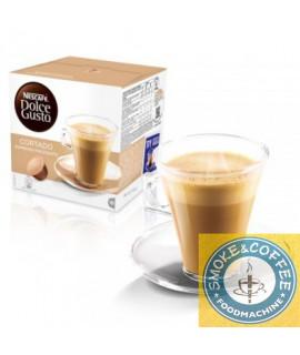 Solubili Nescafè cialde capsule compatibili Dolce Gusto Cortado espresso macchiato