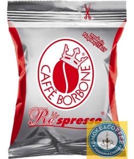 Caffè Borbone Rossa Respresso cialde capsule compatibili nespresso 50