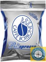 Caffè Borbone Nespresso compatibili cialde capsule Blu Respresso 50