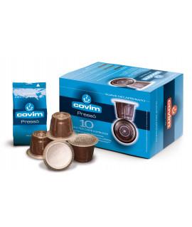 Caffè Covim Pressò Dek cialde capsule compatibili Nespresso