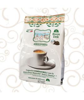 Caffè Toda Gattopardo Decaffeinato Dolce Gusto
