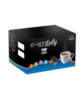 Caffè pop E-spritaly compatibili caffitaly Decaffeinato