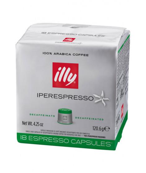 Caffè Illy Decaffeinato cialde capsule compatibili IperEspresso