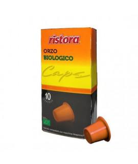 Ristora solubili Orzo Biologico cialde capsule compatibili Nespresso