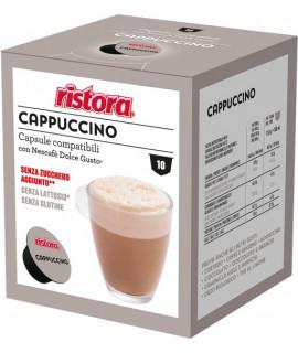 Solubili Ristora cialde capsule compatibili Dolce Gusto Cappuccino