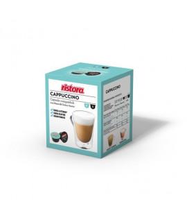 Solubili Ristora cialde capsule compatibili Dolce Gusto Cappuccino senza lattosio