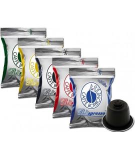 Caffè Borbone Respresso Kit degustazione 5 qualità 80
