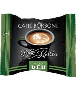Caffè Borbone Dek don carlo 100