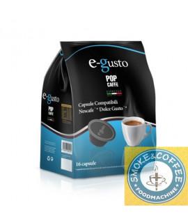 Pop caffè E Gusto miscela n.4 decaffeinato 10 astucci da 16 capsule compatibili dolce gusto