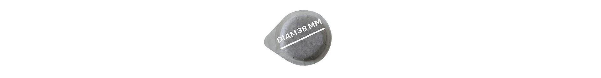Cialde 38 mm.
